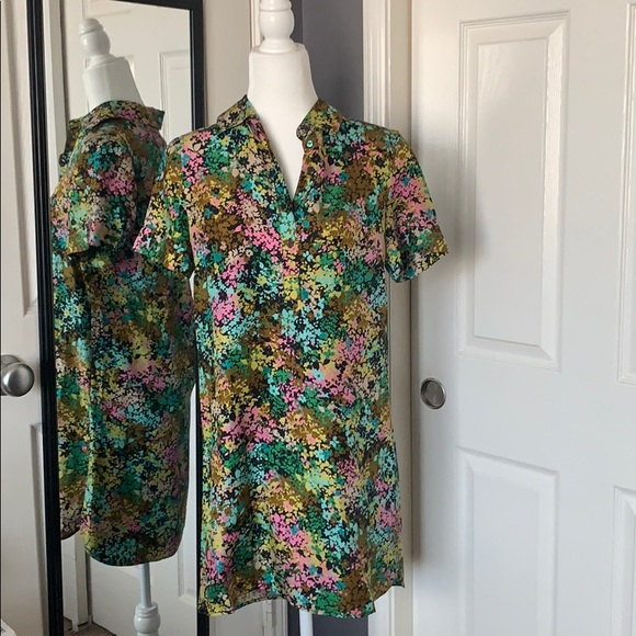 J.Crew Collection floral dress